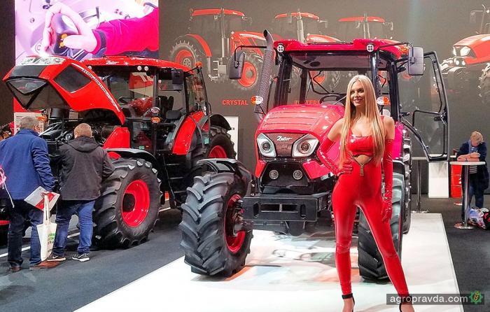 Zetor на выставке Agritechnica представил яркие модели
