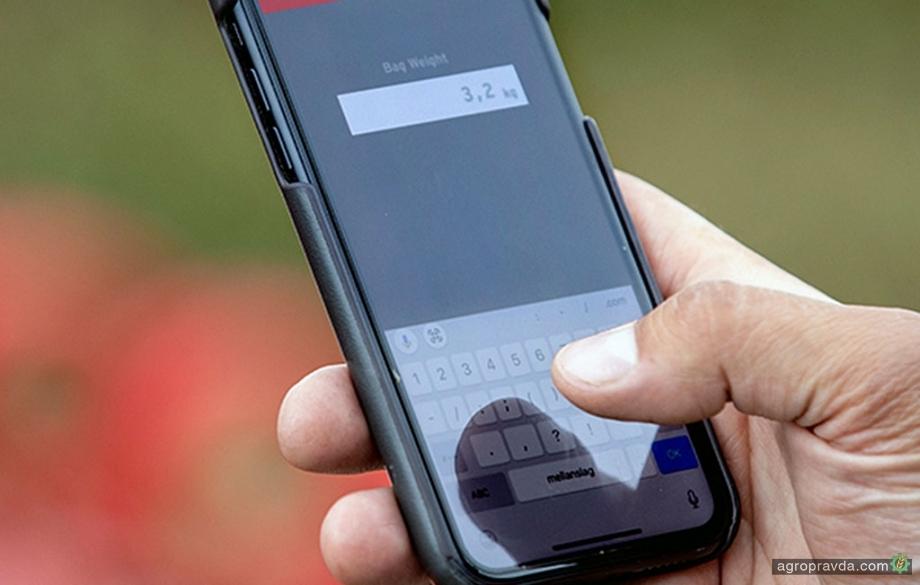 Система E-Control позволяет откалибровать сеялку с помощью смартфона