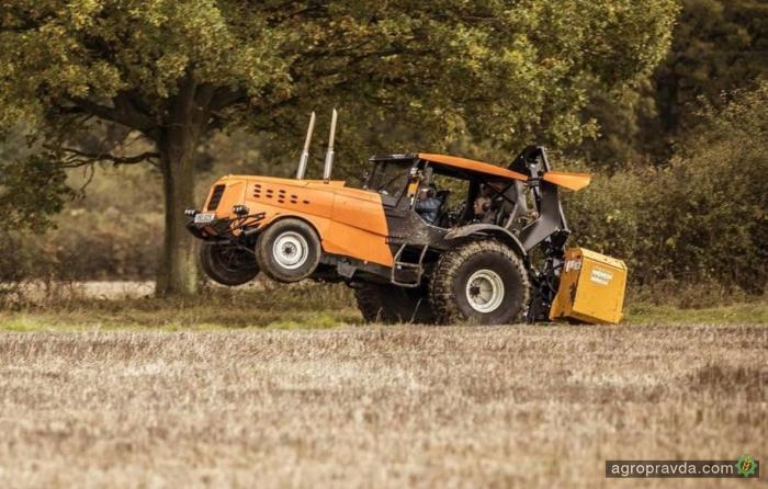 Поставлен новый рекорд скорости на тракторе