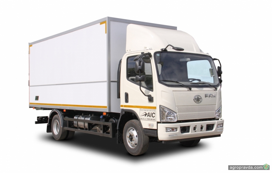 В Украине стартовало производство нового грузового фургона на шасси FAW