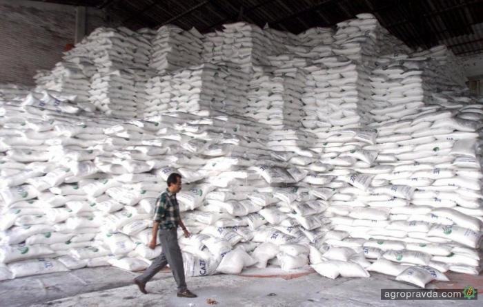 Украина произвела 1,42 млн тонн сахара