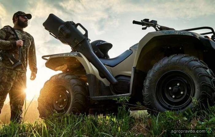 Yamaha обновила ATV Kodiak 450