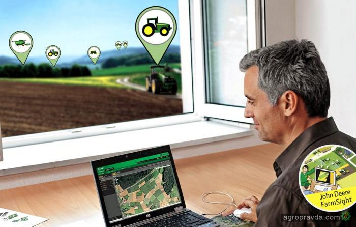 John Deere улучшил систему FarmSight