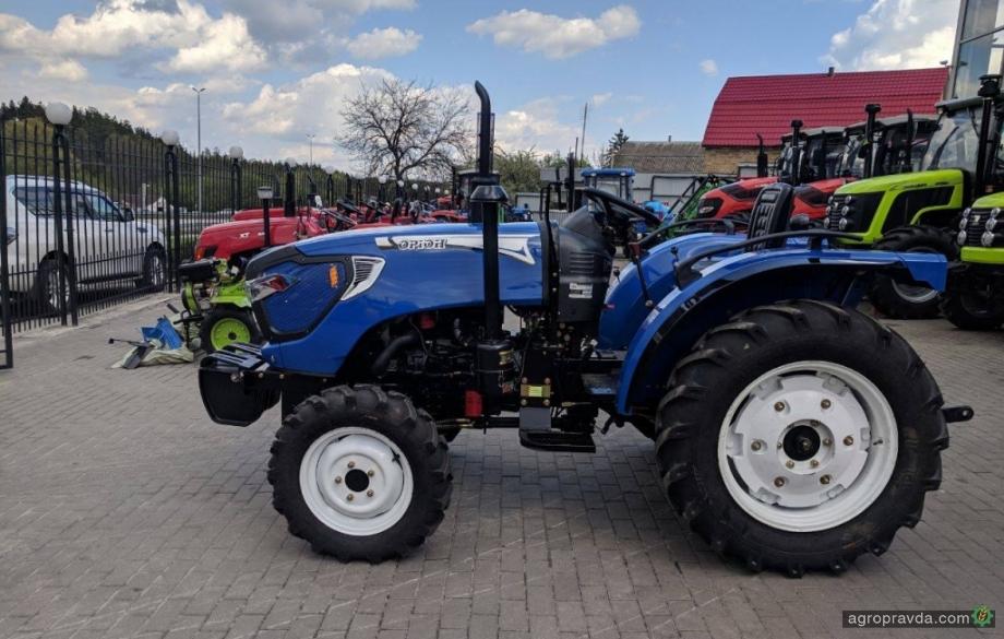 Лизинг мини-тракторов в Украине набирает обороты