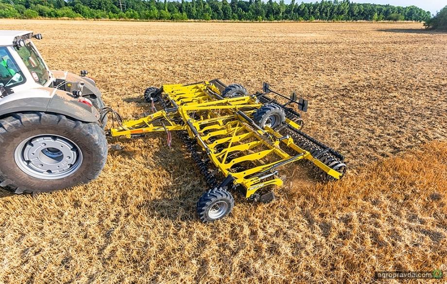 Як лущильники Swifterdisc працюють в господарствах України