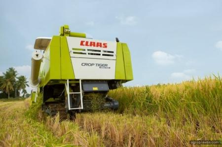 Claas выпустил юбилейный комбайн Crop Tiger