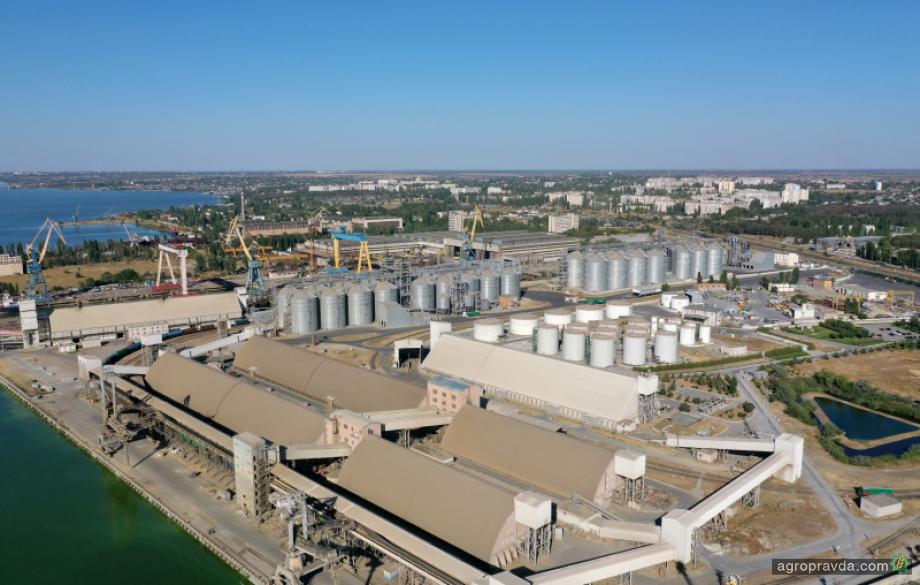 Порт «Ника-Тера» начал прием шрота-2020