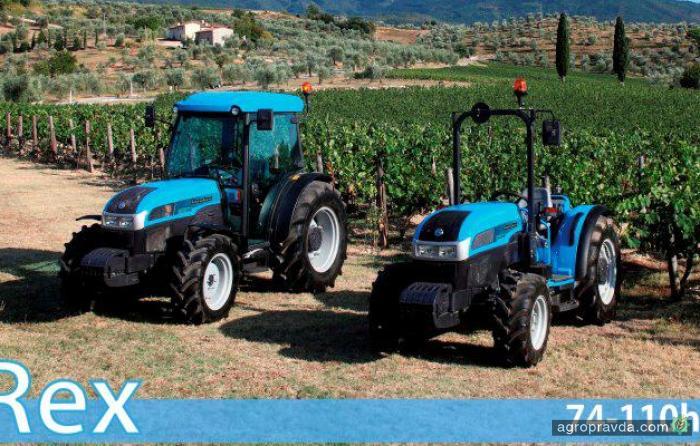 Landini представит обновленную серию тракторов REX