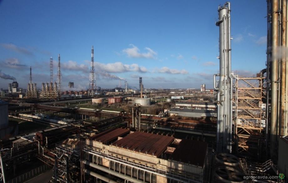 Черкасский «Азот» наращивает производство азотных удобрений