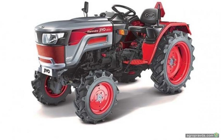 Mahindra выпустила 3-миллионный трактор