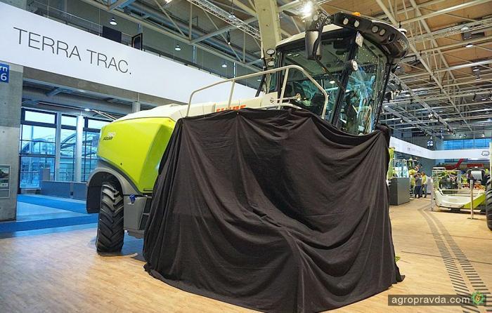 Claas представил новый Jaguar