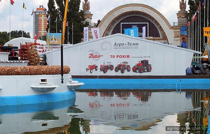 «Агро-Темп» представил новинки сельхозтехники