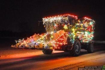 Рождественские комбайны. Фото