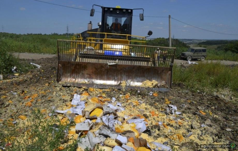 РФ продлила продовольственное эмбарго против Украины