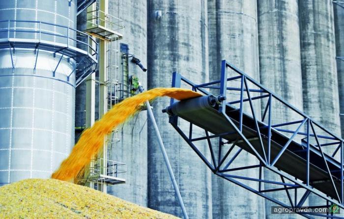 Морпорты сократили перевалку зерна