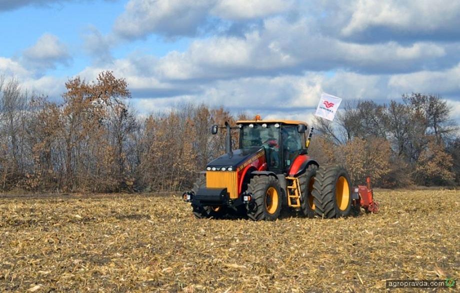 В Украине прошел демотур трактора VERSATILE 370