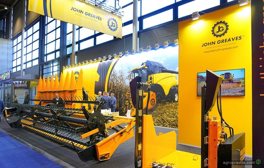 John Greaves представит новинки на выставке «Зерновые технологии» в Киеве