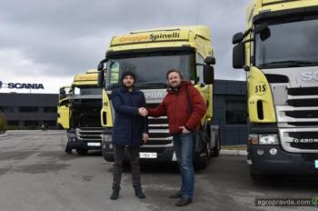 Аграрии продолжают пополнять автопарки грузовиками Scania