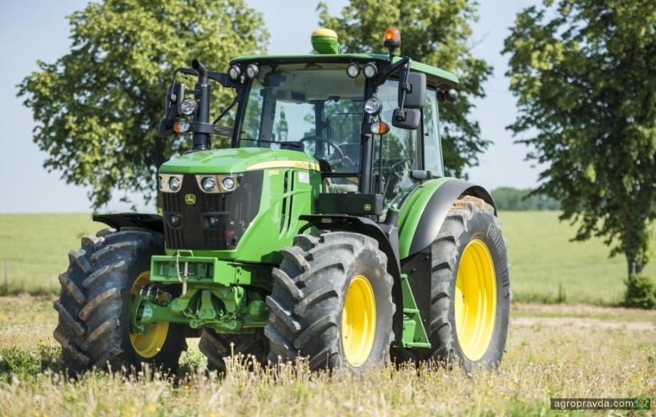 Тракторы John Deere будут комплектоваться шинами Continental