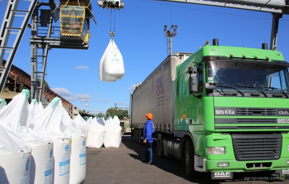 Украина экспортировала рекордное количество удобрений