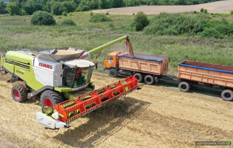 Поля «Эпицентр Агро» показали рекордную урожайность
