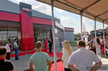 В Ровно открыли новый дилерский центр Case IH