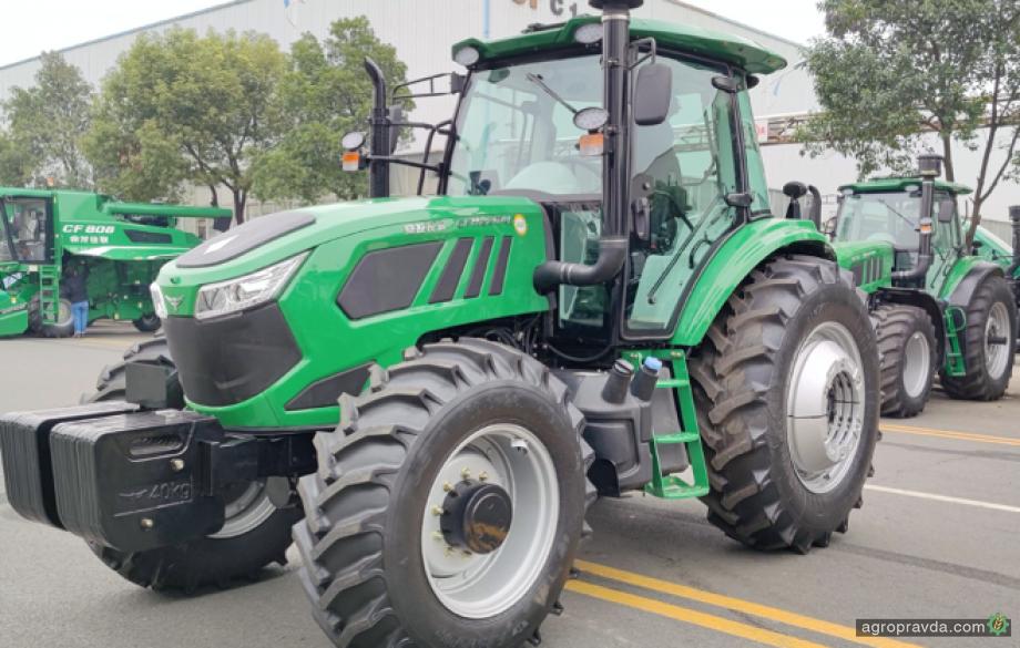В Украине появился новый бренд китайских тракторов