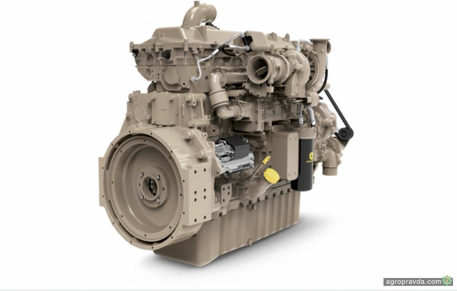 John Deere разрабатывает 18-литровый 870-сильный двигатель