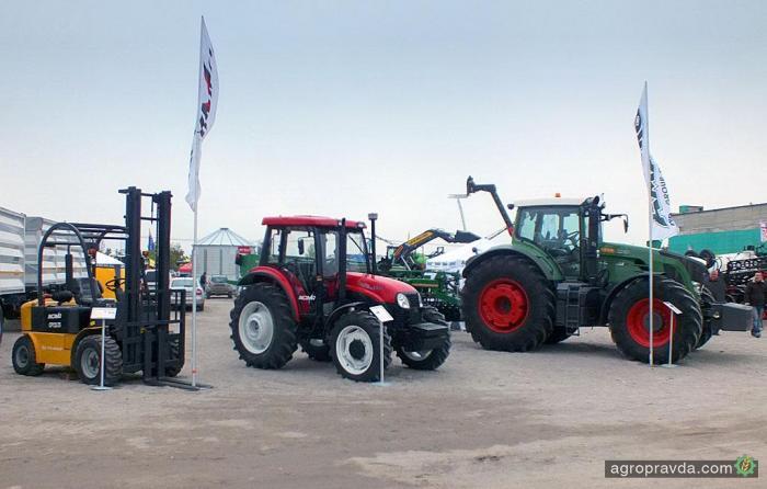 «Амако» представляет линейку тракторов YTO