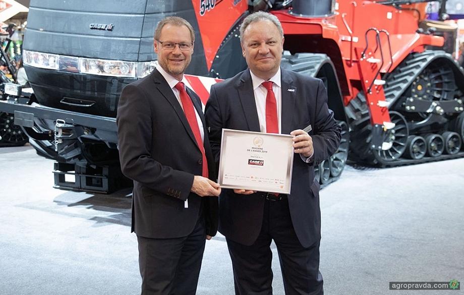 Тракторы Case IH получают награды «Машина года 2019»