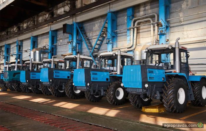 На ХТЗ рассказали сколько выпустили тракторов