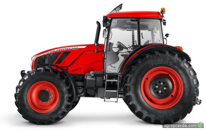 Zetor готовится представить новый ТОПовый трактор Crystal 170