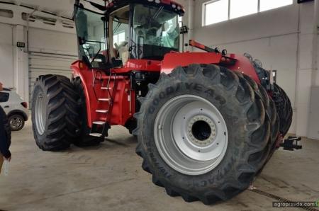 В Украине появились ТОПовые тракторы Case IH нового поколения