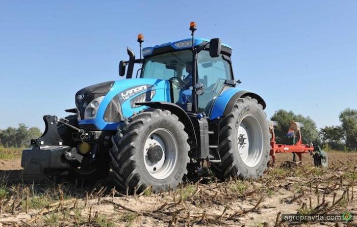 Трактор Landini 7 Series в работе. Видео