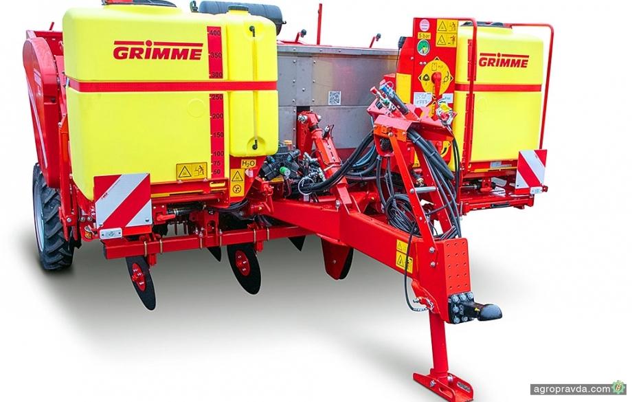 Grimme усовершенствовал посадочные машины