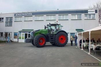 Fendt 1050 представили на Тернопольщине