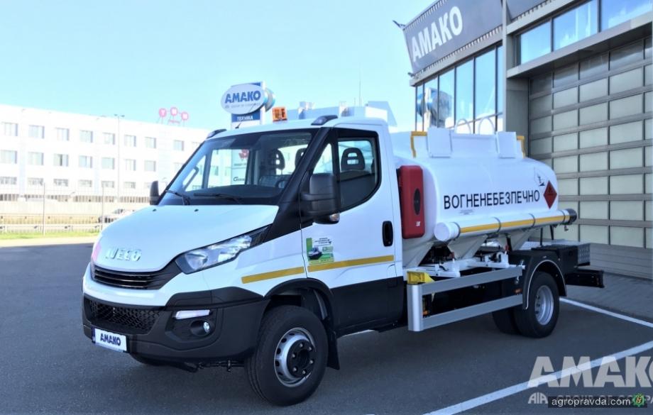 На шасси IVECO Daily выпустили компактный топливозаправщик