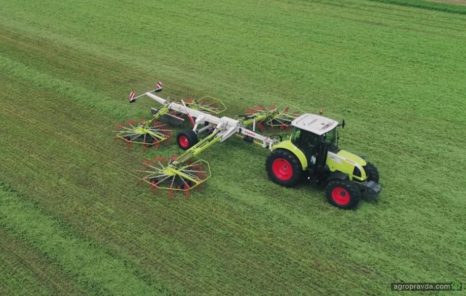 CLAAS в Украине провел День поля по заготовке зеленых кормов
