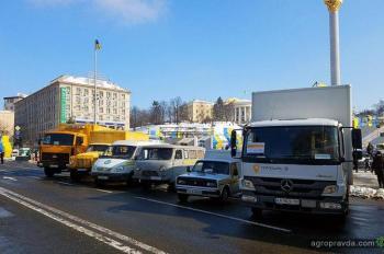 Укрпошта обновила парк автотехники. Фото
