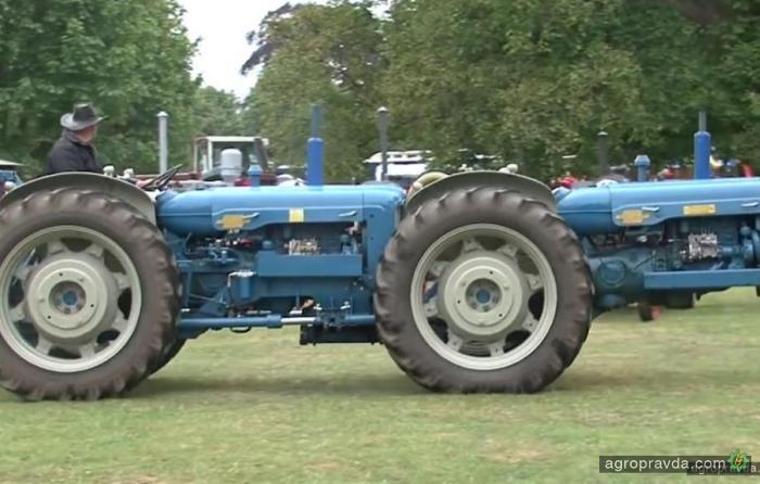Самые необычные трактора. Видео
