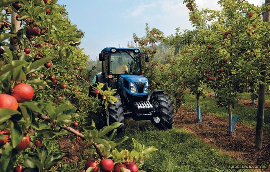 В New Holland рассказали о специализированных тракторах T4F/N/V