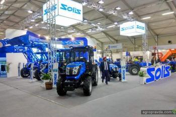 Тракторы Solis представили на крупнейшей европейской выставке