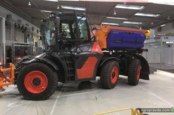 Syn Trac представил футуристический прототип трактора
