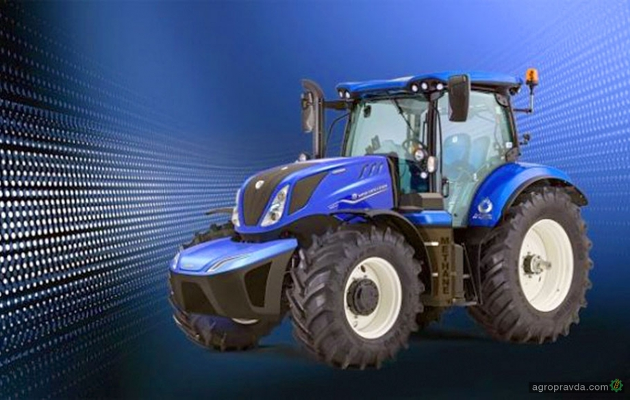 New Holland начнет серийный выпуск газового трактора в 2020-м г.