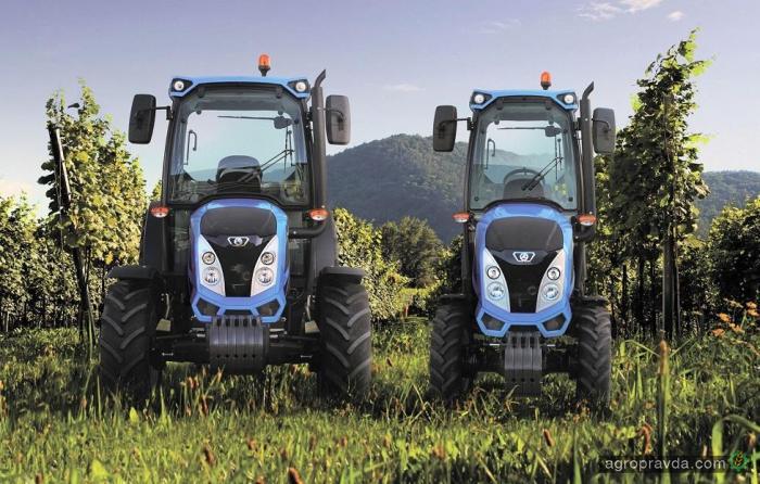 Landini представит новые садовые трактора