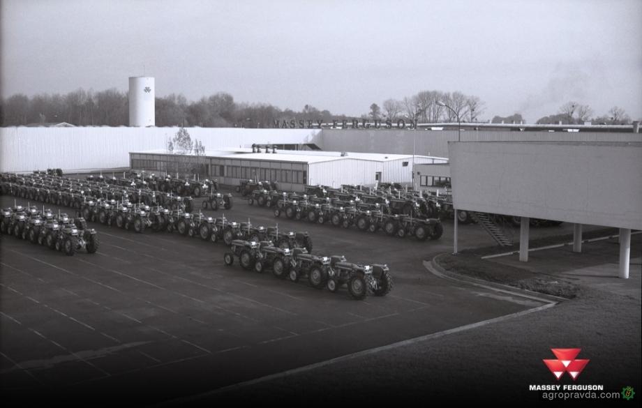 Massey Ferguson отмечает 60 лет производства первого трактора во Франции