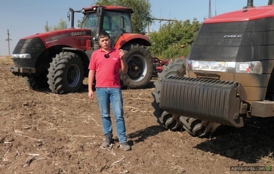 Case IH рассказал об оптимизации работы тракторов. Балластировка
