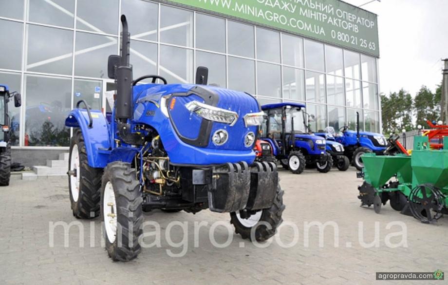На рынке Украины представили новые модели тракторов «Орион»