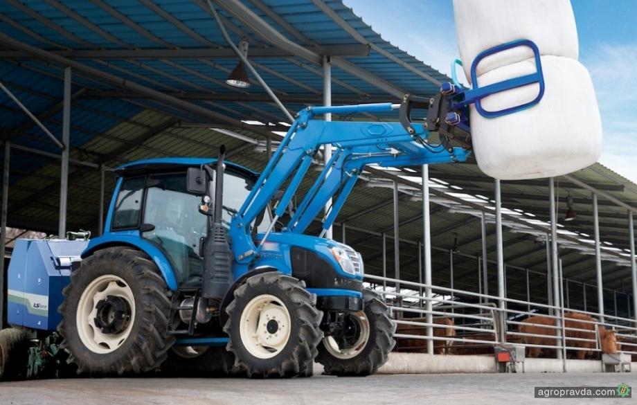 Корейцы выведут на рынок премиум-линейку тракторов LS