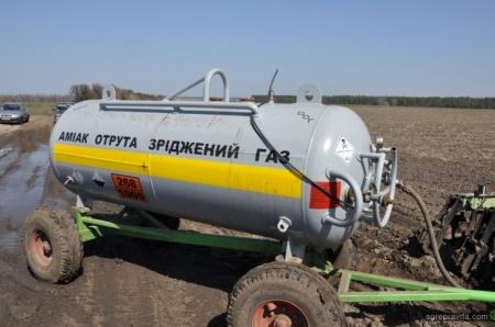 Как аграриям примениь аммиачную воду